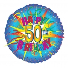 Image of 50th Birthday Balloon