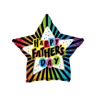 Father's Day Star Balloon
