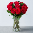 12 Red Roses by Post