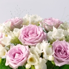 Image of Freesias and Roses