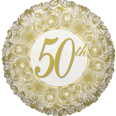 Image of 50th Anniversary Balloon