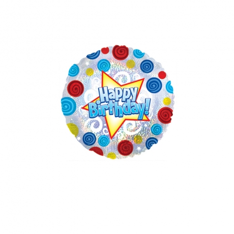 Image of Happy Birthday Balloon