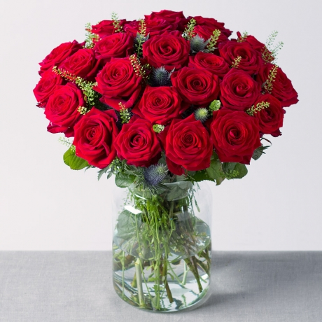 Image of 24 Luxury Red Roses