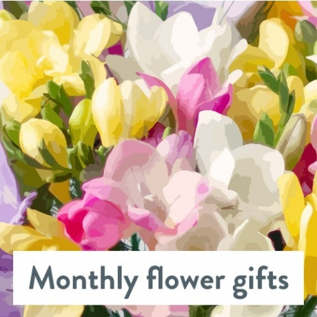 Monthly Flower Gifts