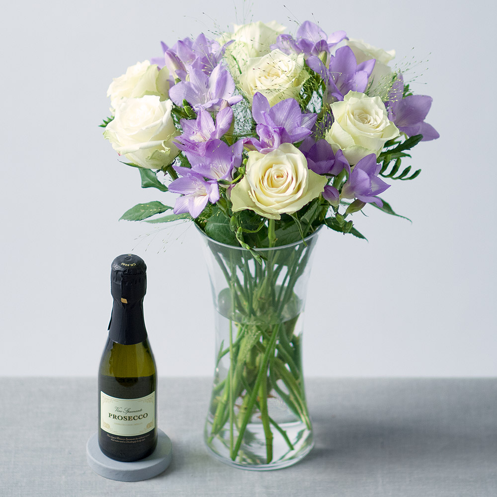 Image of Flowers and Prosecco
