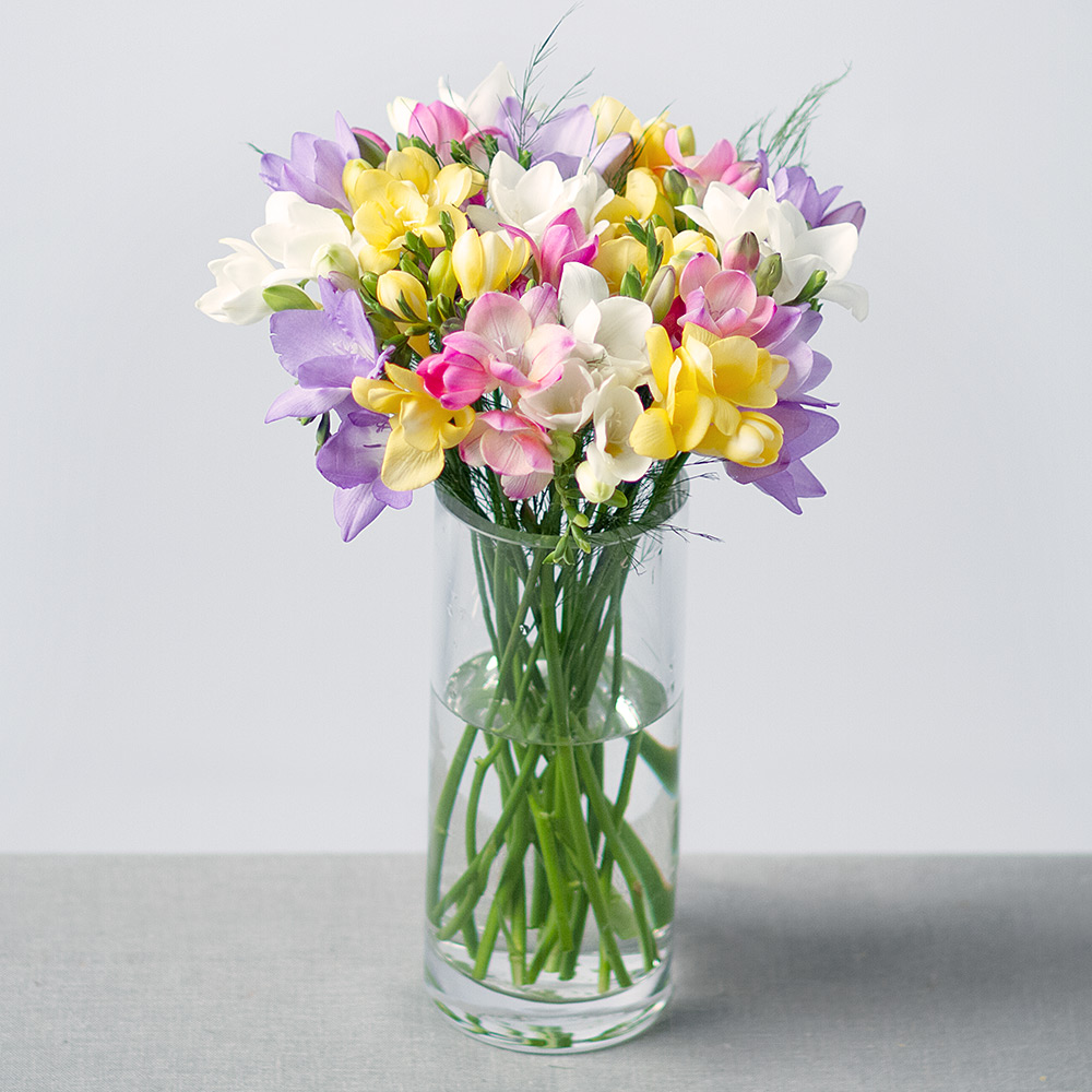 Fragrant Flowers Bouquet | Fragrant Freesias Bouquet By Post ...