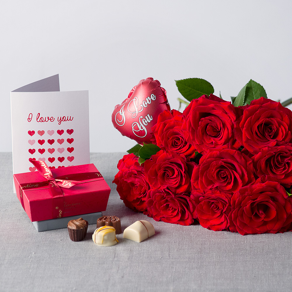 Image of I Love You Flower Gift