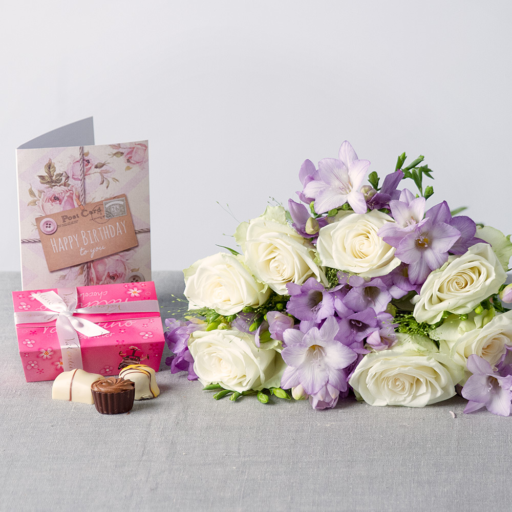 Birthday flowers delivered birthday gifts flowers for birthdays lilac haze birthday gift izmirmasajfo
