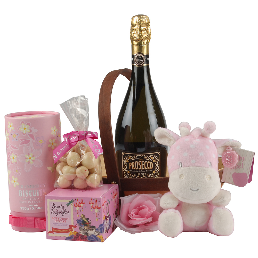 Baby Gift For Mum : Baby girl gift for mum hamper hampers by post