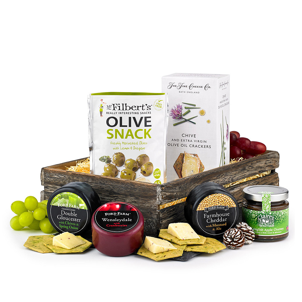 Image of Cheese and Snacks Hamper